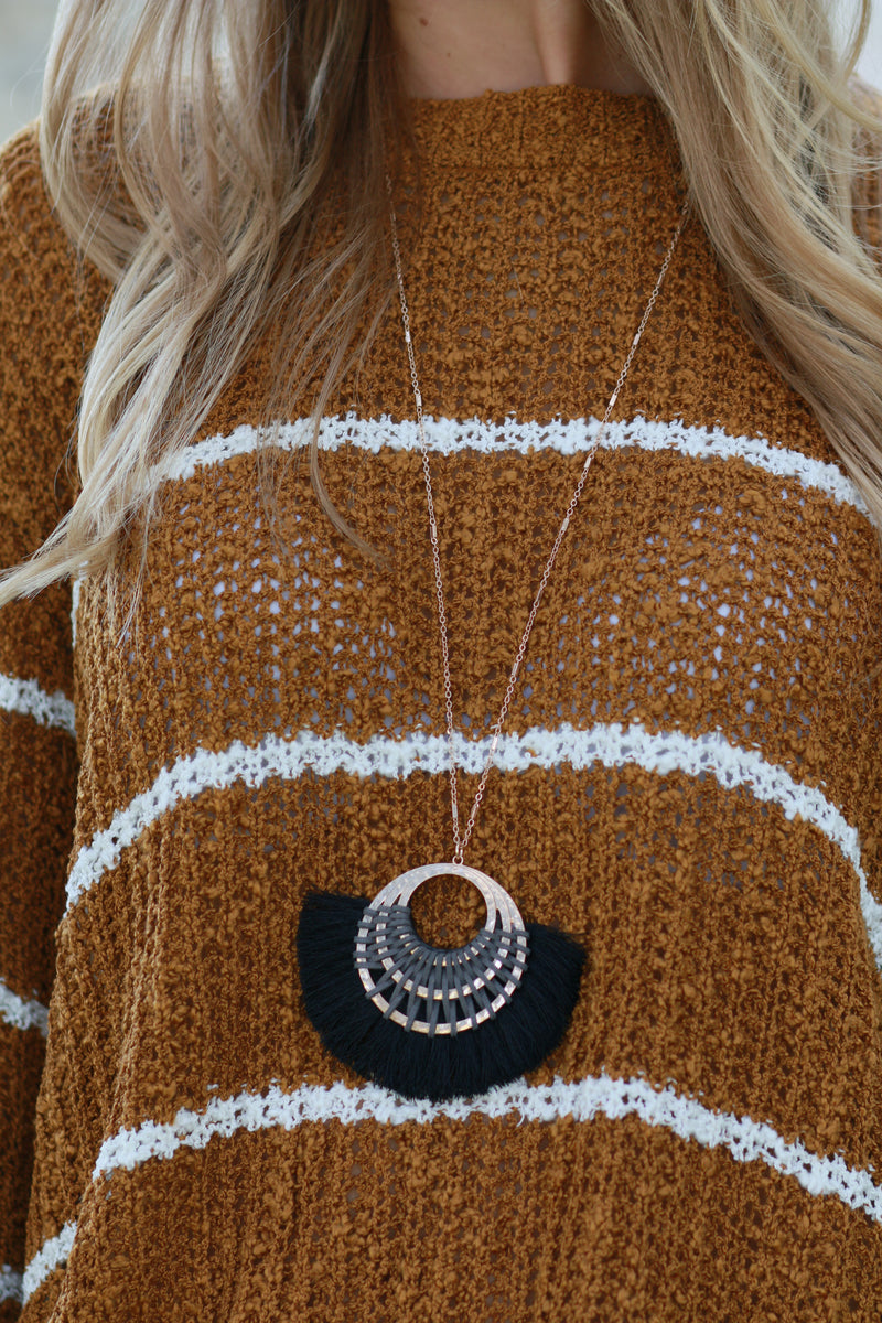Fan Of Fall Necklace
