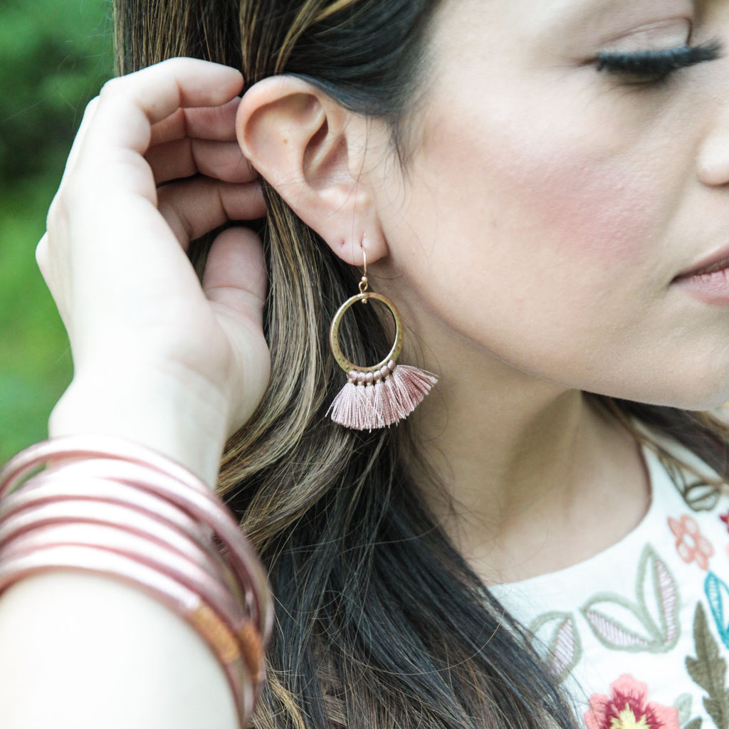 Treasure the Tassel Earrings
