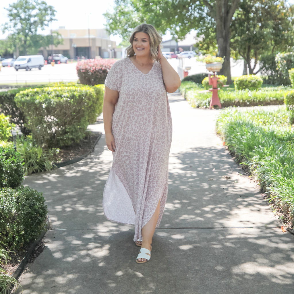 Just What You Needed Curvy Maxi