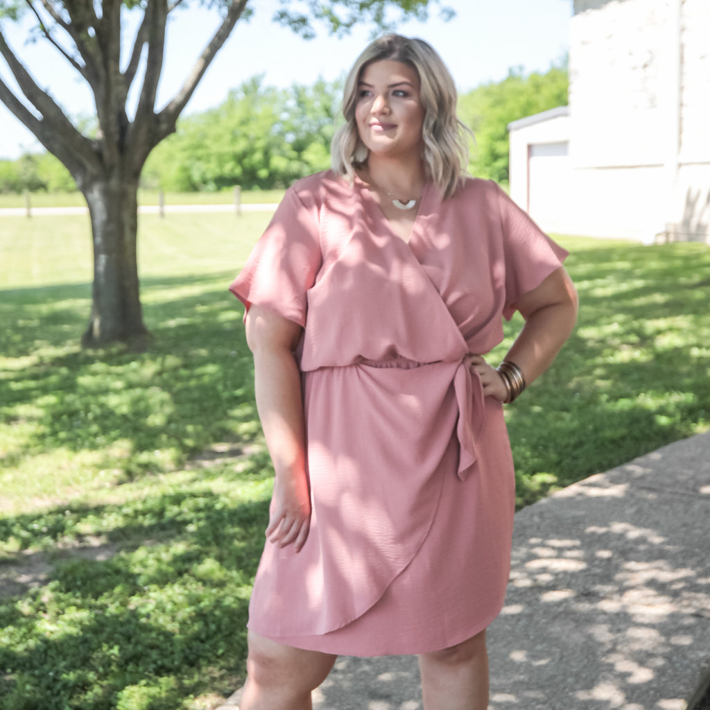 Strong Connection Curvy Dress
