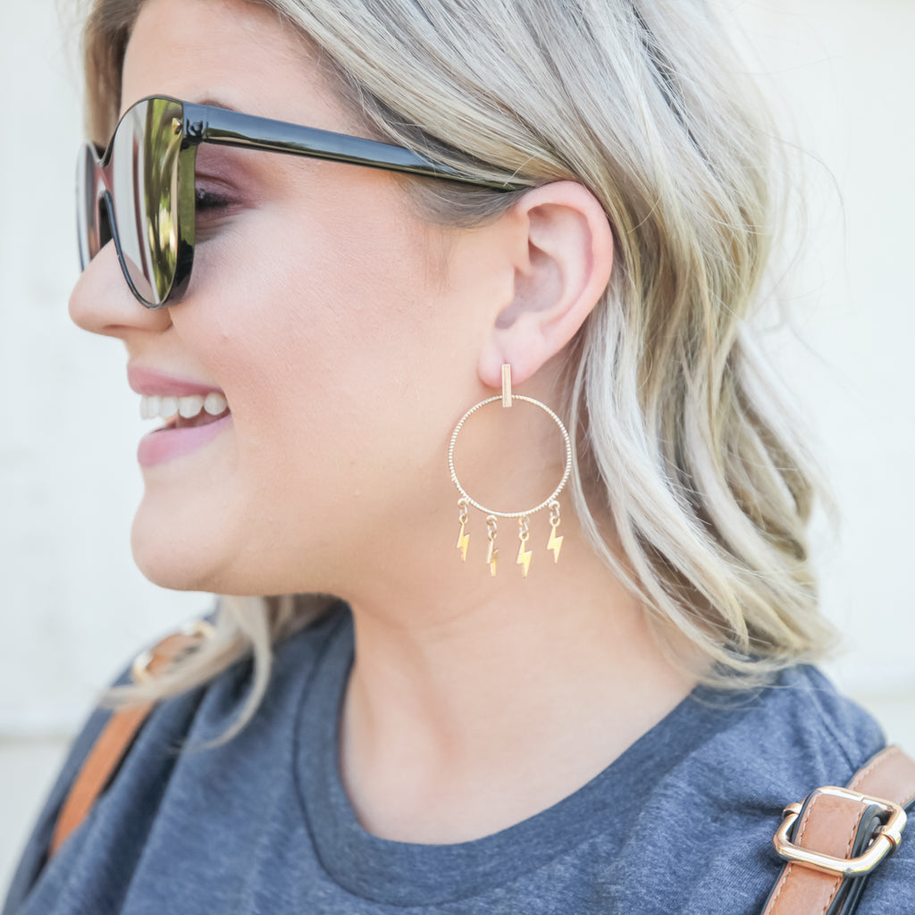 Strike It to It Earrings