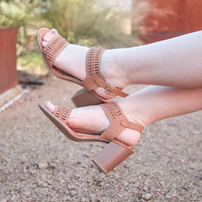 The Caris Heeled Sandal