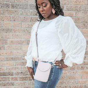 Spring Surprise Studded Crossbody
