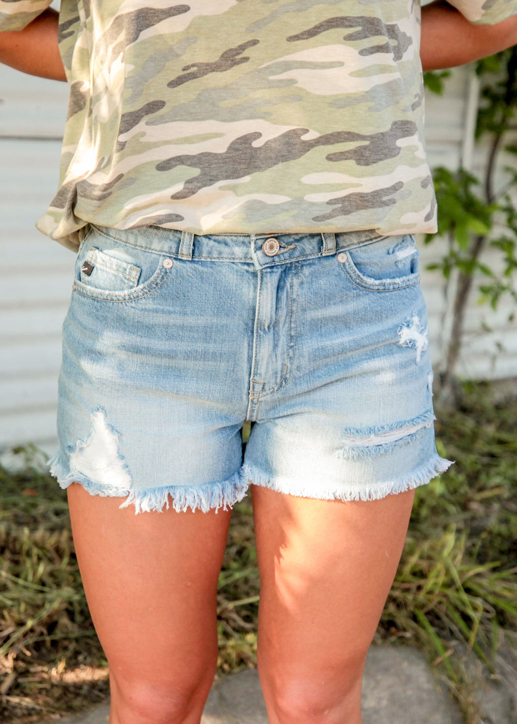 Cool & Collected Mom Shorts