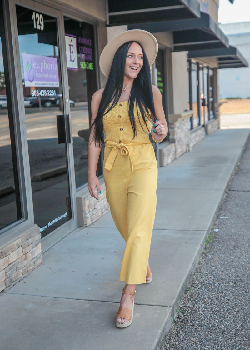 Sipping In The Sunshine Jumpsuit