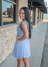 Buttercup Blues Floral Dress