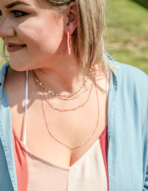 Good Vibes Layered Necklace