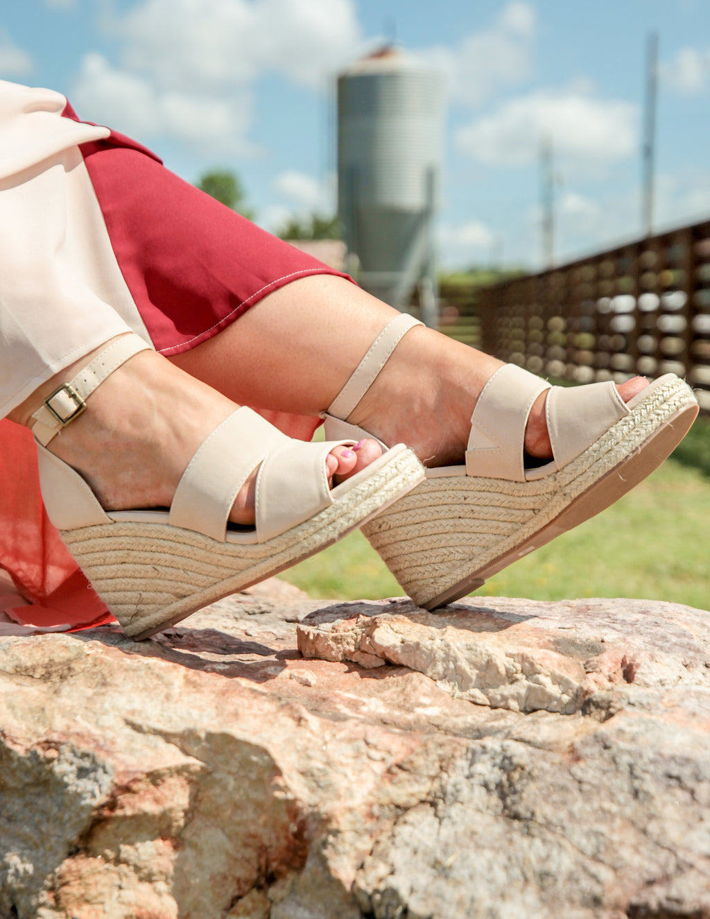 Coasting Into Cute Wedges