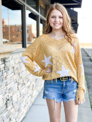 Wish On A Star Sweater