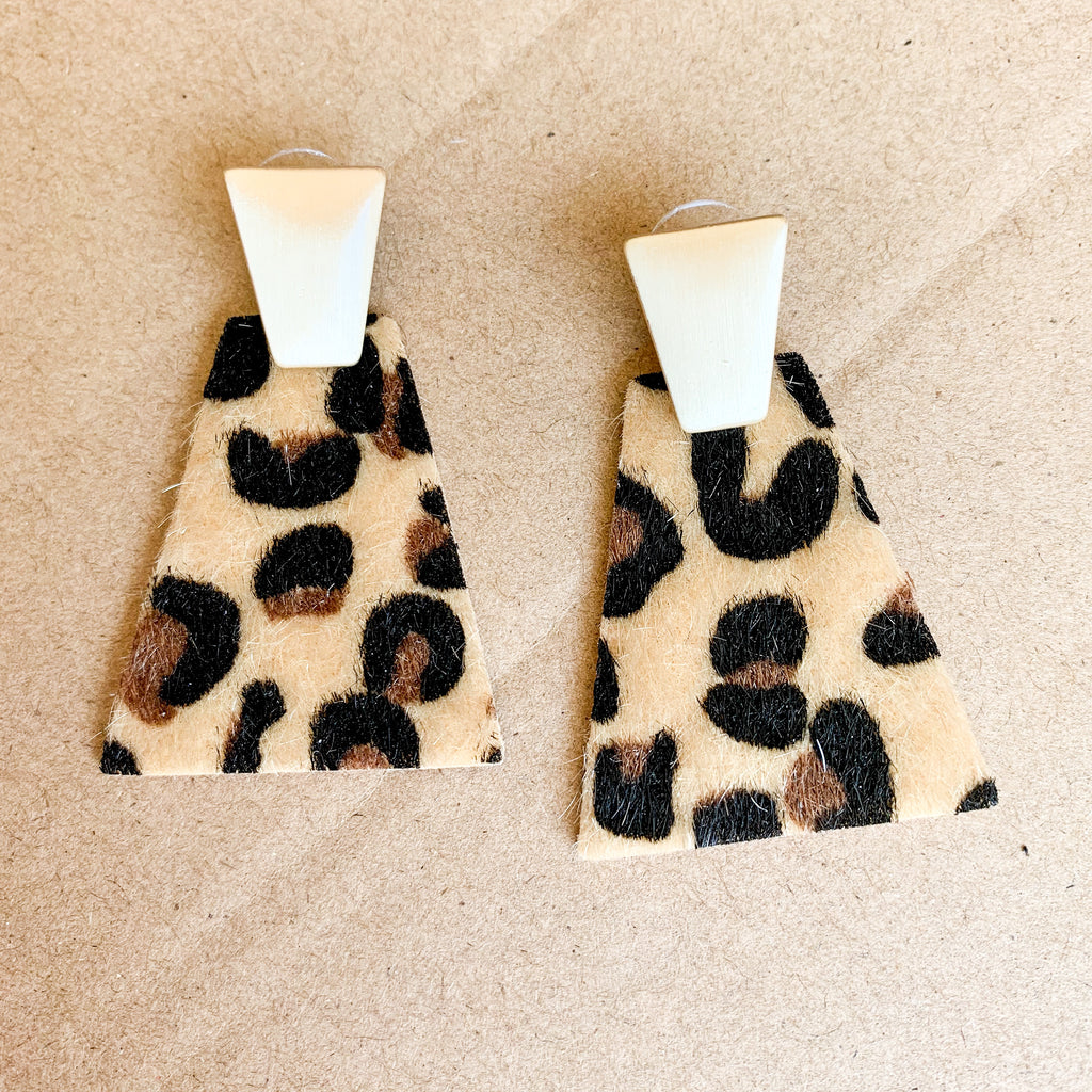Leopard Attraction Earrings