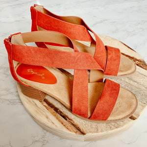 Cross Your Path Sandals