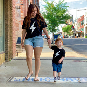 Kids Lightning Bolt Tee
