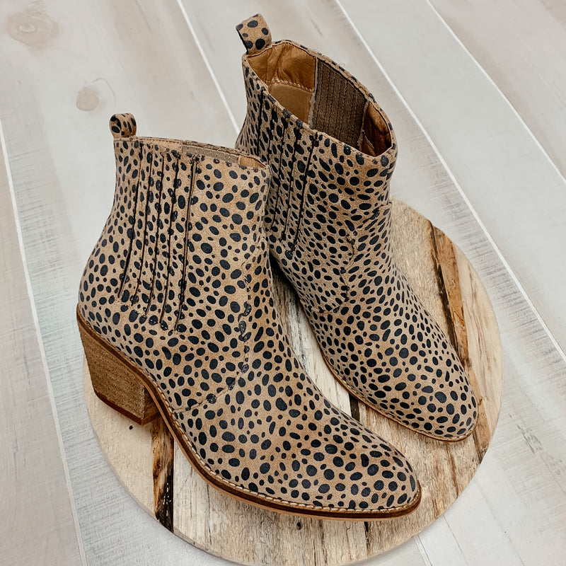 Lenora Printed Booties