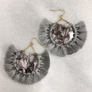 Cicero Fringe Earrings