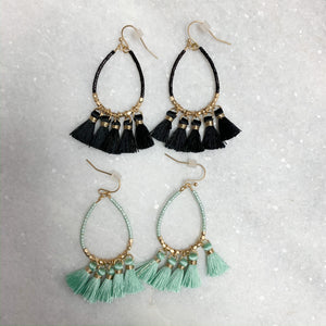 Don't Fringe It Earrings