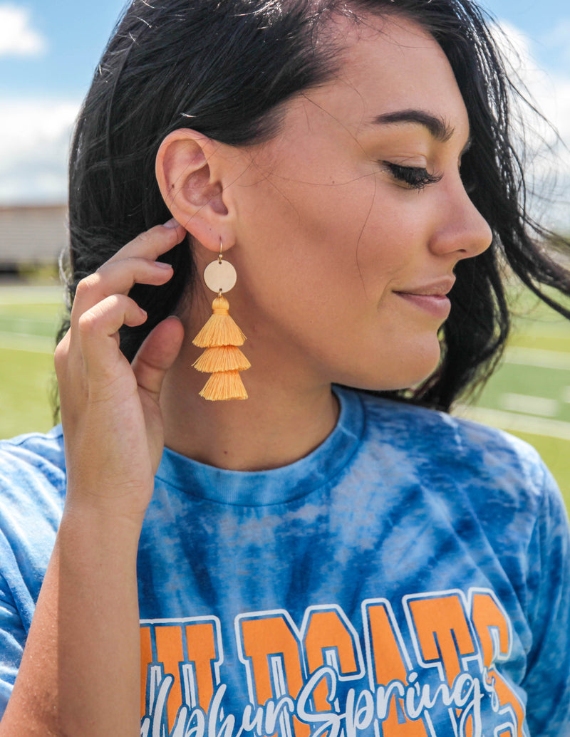 Layers of Love Tassel Earrings