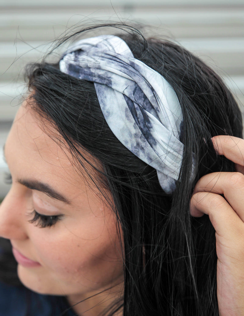 Top View Tie Dye Headband