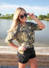 Star Cadet Camo Top