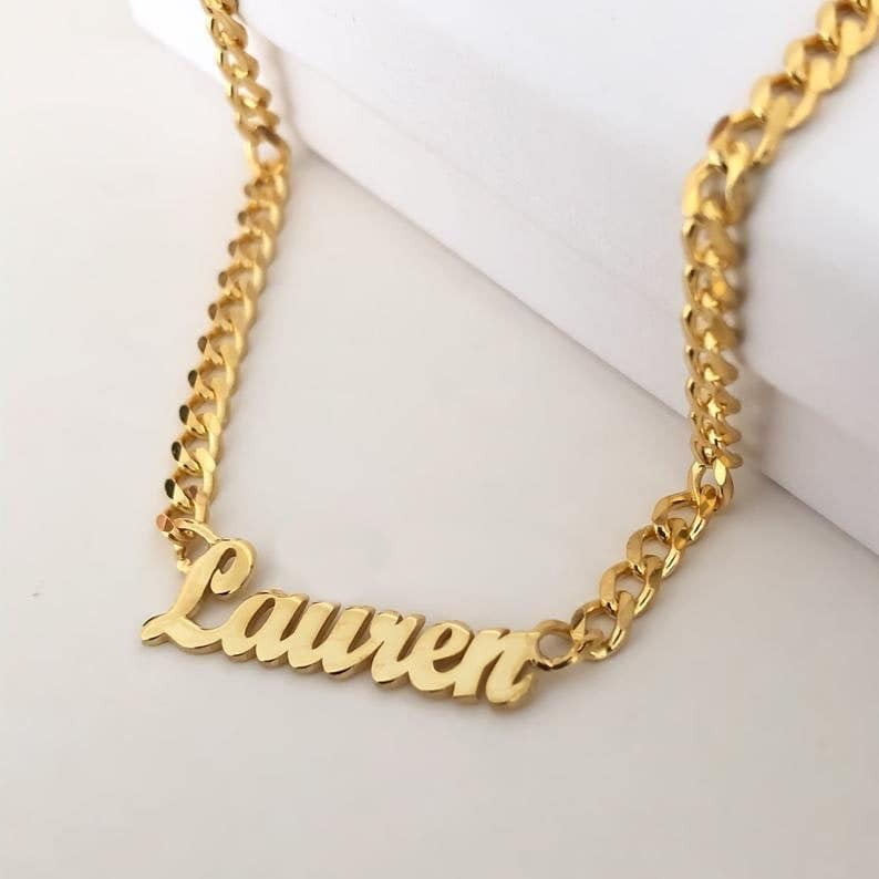 Custom Chain Name Necklace