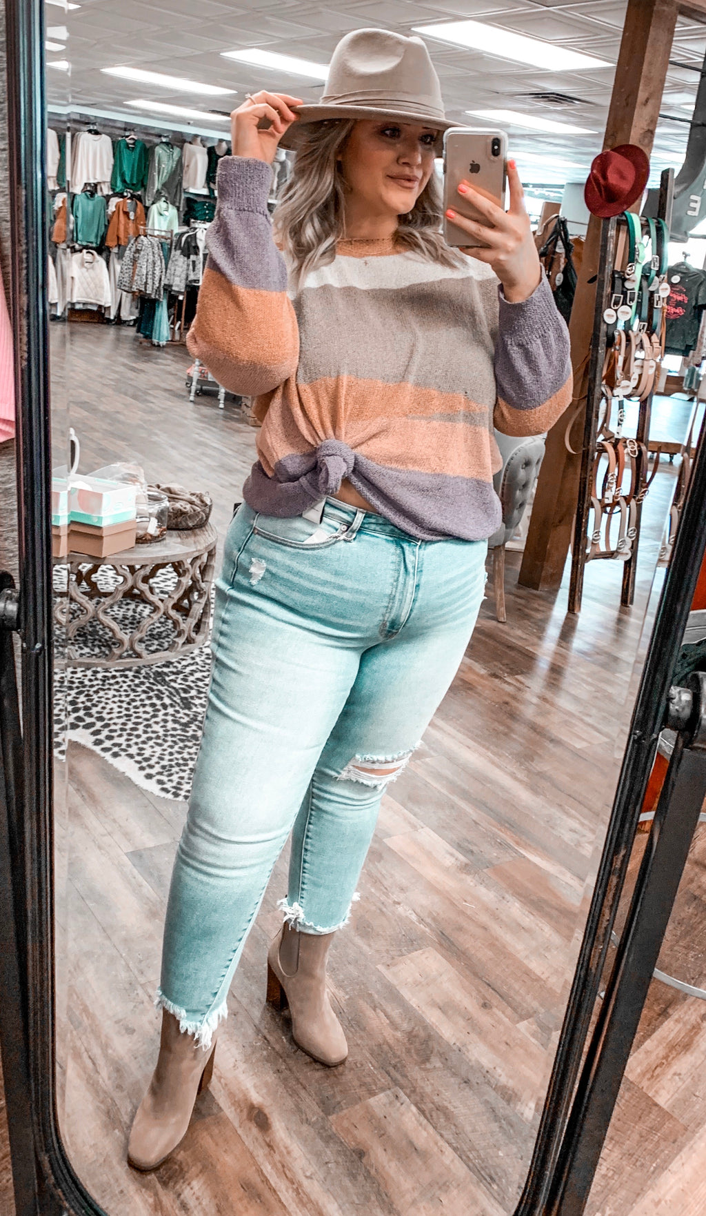 Apricot Lane Knit Sweater