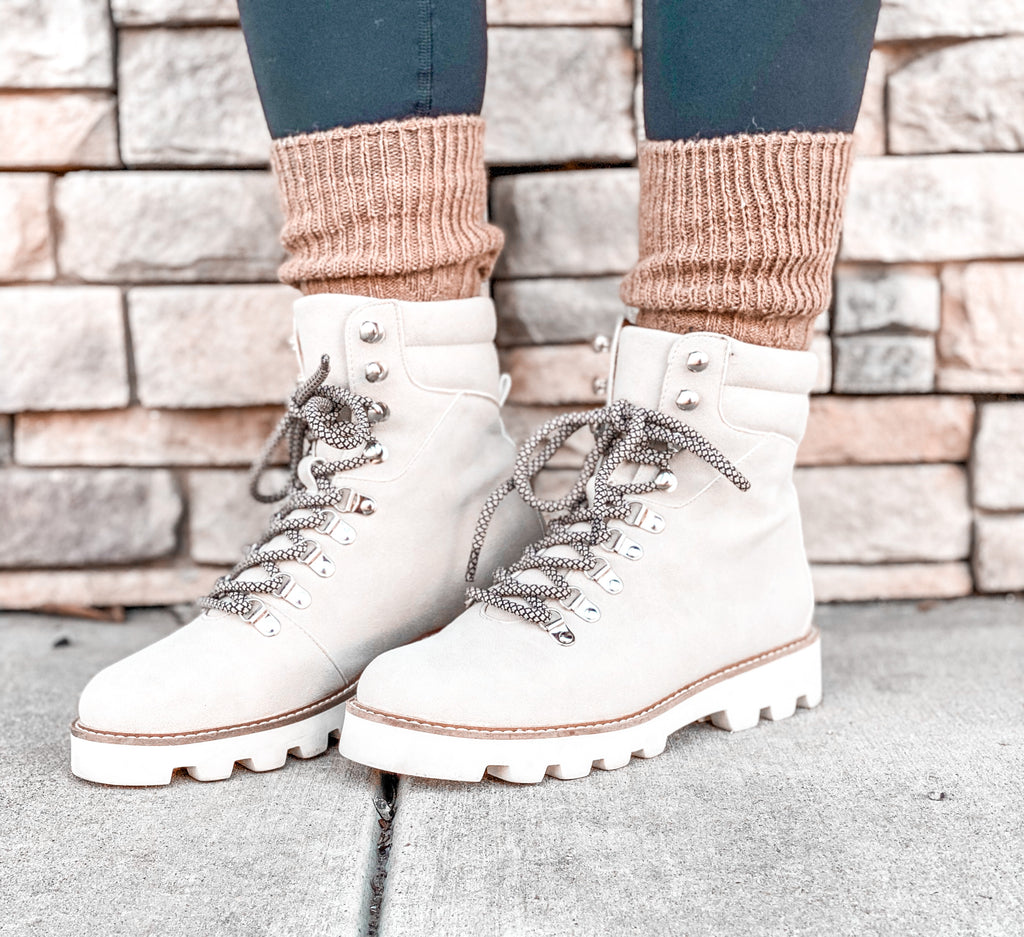 The Ren Faux Suede Boot