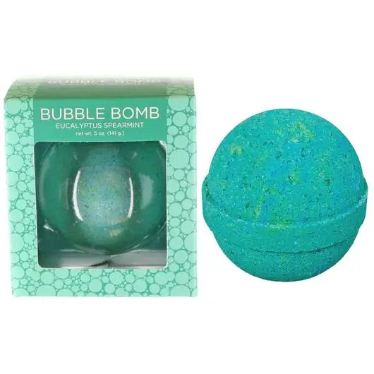 Eucalyptus Spearmint Bubble Bath Bomb