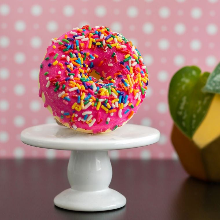Birthday Cake Doughnut Bath Bomb