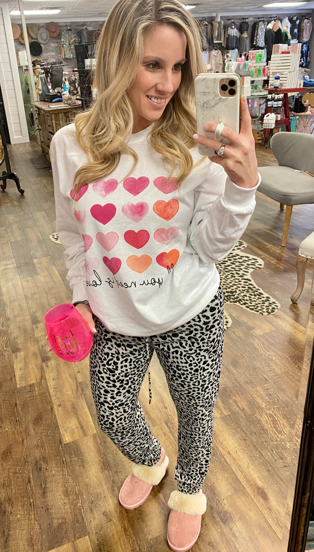 Leopard Lady Joggers