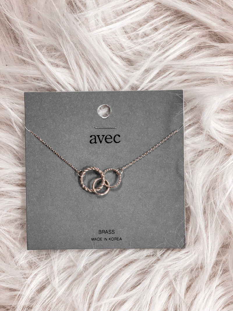 SBS Triple Circle Necklace #3