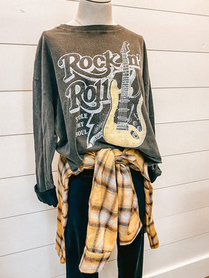 Rock N Roll Stole My Soul Top