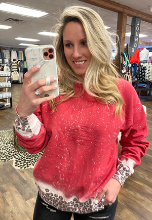 Leopard Obsessed Sweatshirt