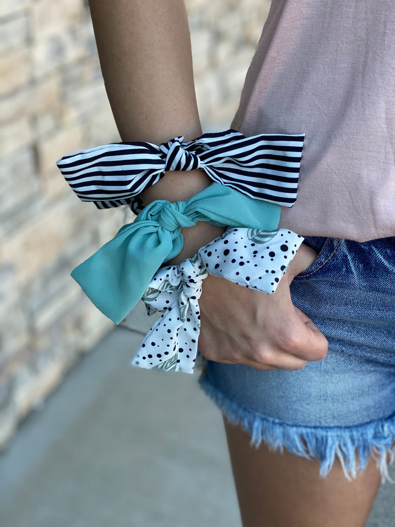 Triple Threat Scrunchie Set