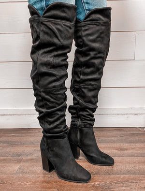 The Covington Thigh High Boot