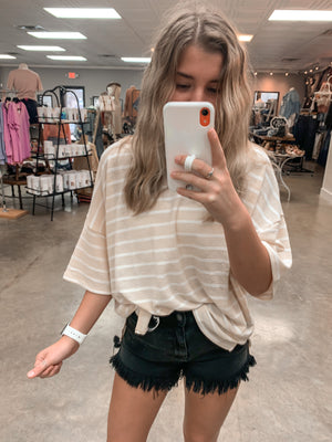 Spring Time Stripe Top
