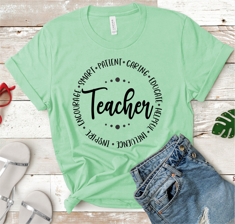 Teacher Character Tee
