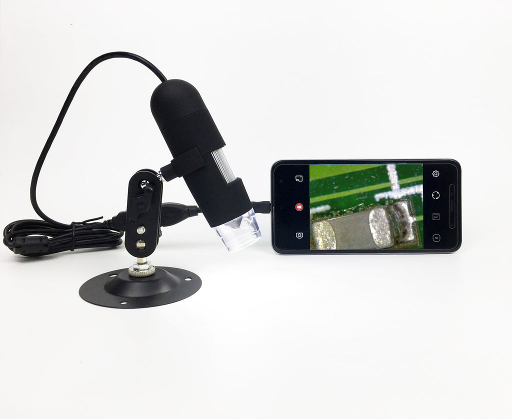 Coin Microscope - Digital Microscope Camera 1600x USB Handheld With Stand Mini