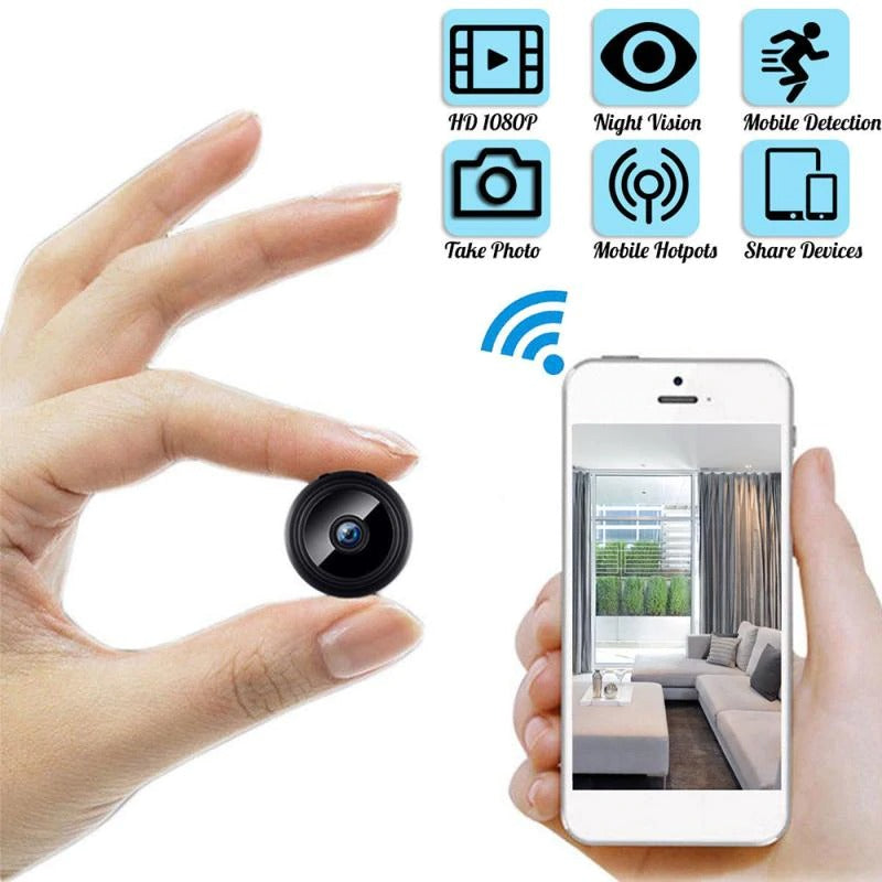 2020 Home Security MINI WIFI 1080P IP Camera Wireless with audio
