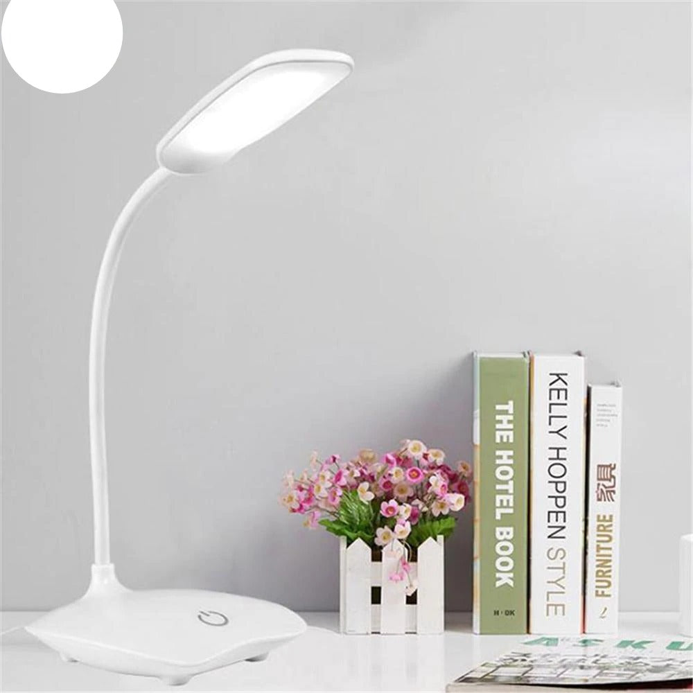LED Desk Lamp Foldable Dimmable Touch lamp