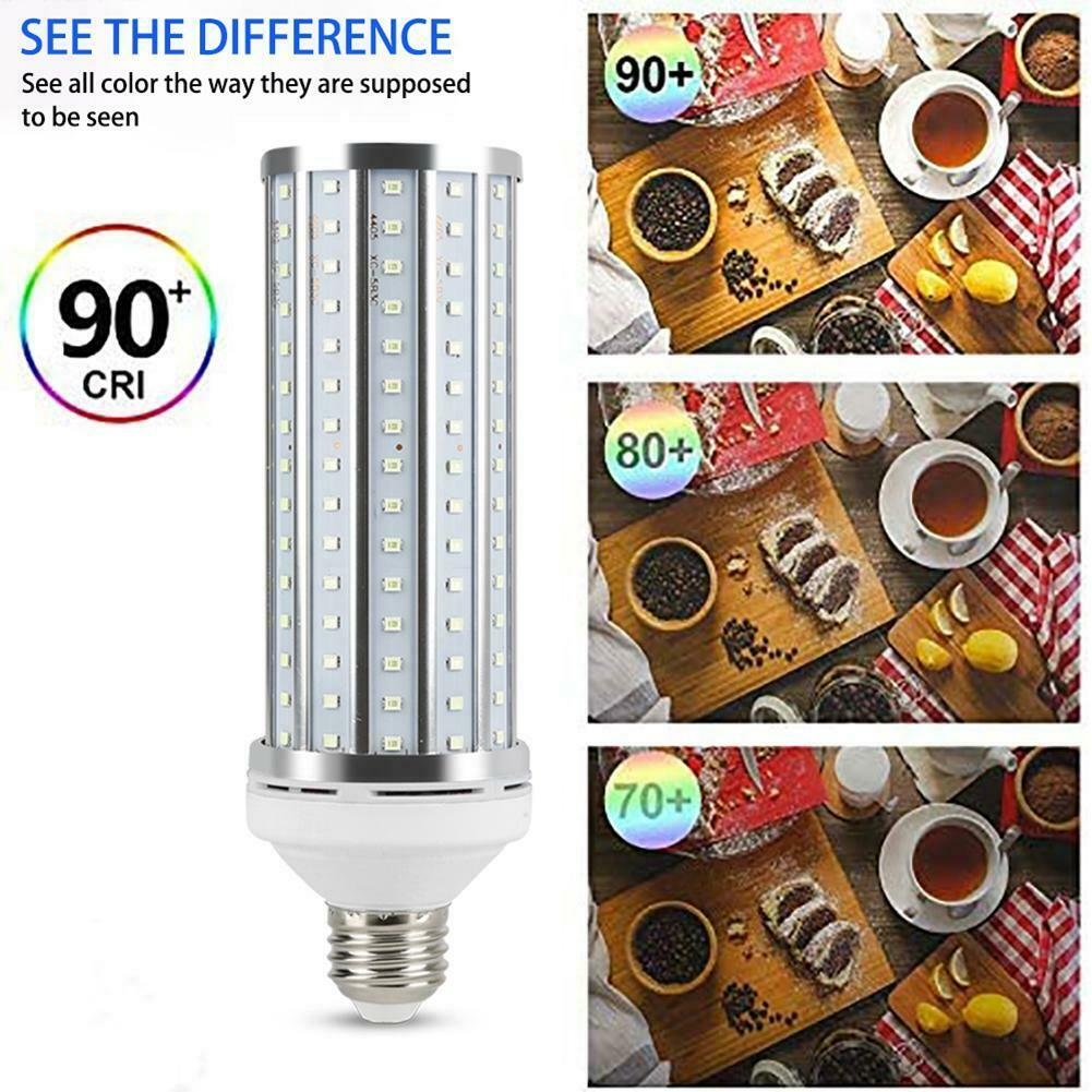 UV 60W Germicidal Lamp LED UVC Bulb E27 Household Disinfection Light With Remote