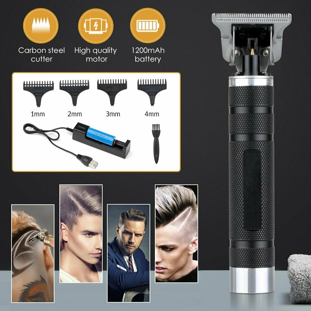 2020 Pro Real Zero Gap Cordless Trimmer Wireless Portable Hair Clipper