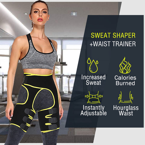 Women Slimming Fit Thermal Short Pants Hot Pants Weight Loss