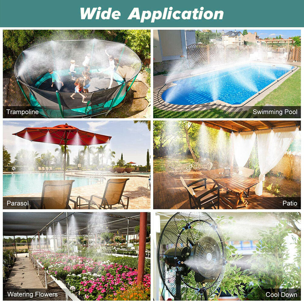 Outdoor Misting Cooling System