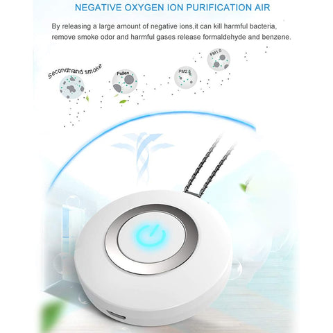 Air Purifier Necklace - Personal Air Purifier Necklace