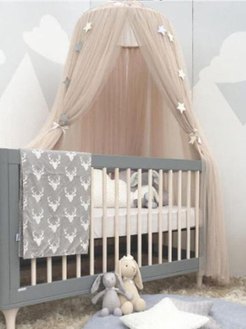 Baby Bed Curtain Round Crib - Balma Home