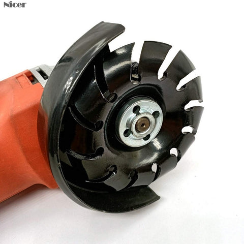 Teeth Wood Carving Disc - Angle Grinder
