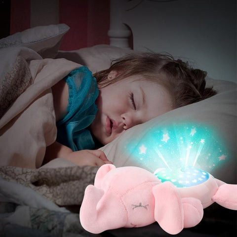 LED Baby White Noise Sound Machine Stuffed Animal