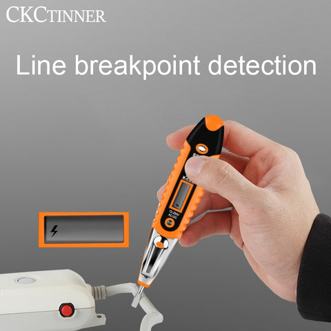 Display Voltage Detector Test Pen Electrician Tools
