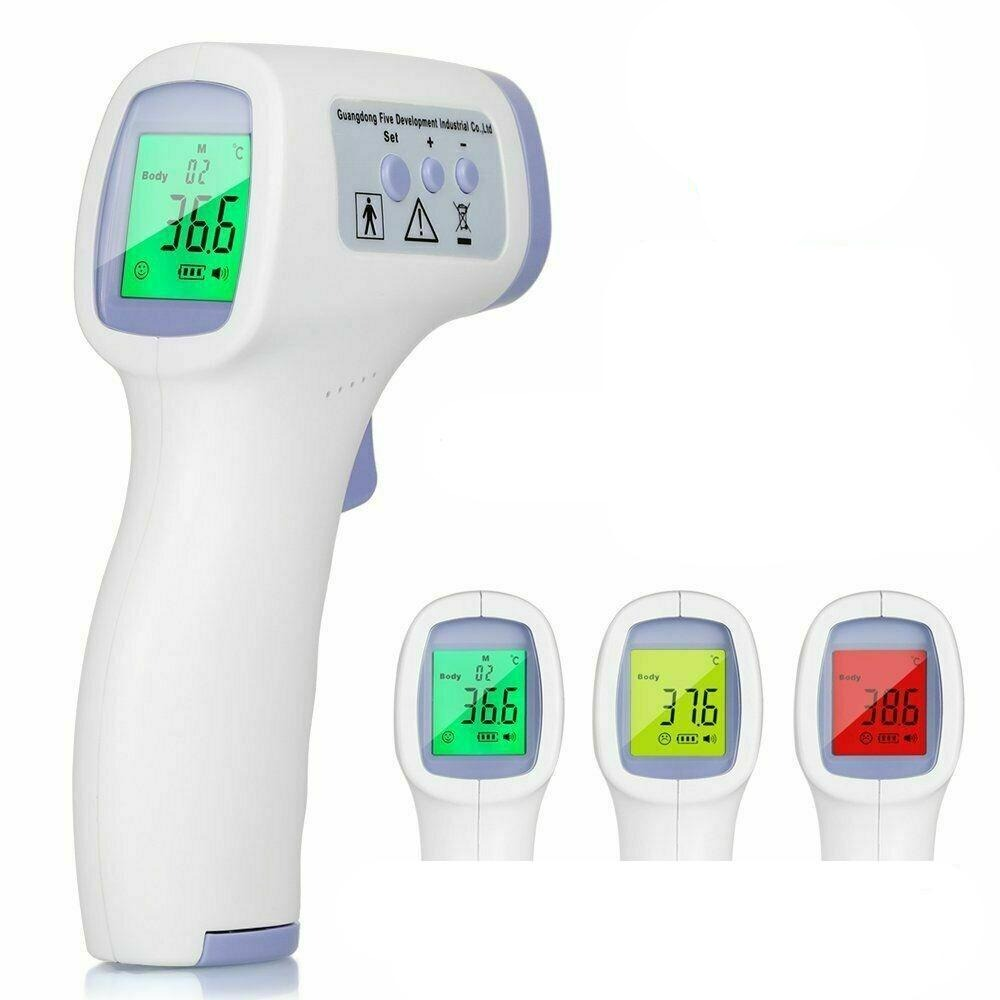 Medical NON-CONTACT Body Forehead IR Infrared Laser Digital Thermometer Accurate