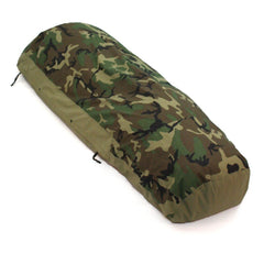 US Military Modular Sleep System Bivy Cover, Woodland Camo, Used