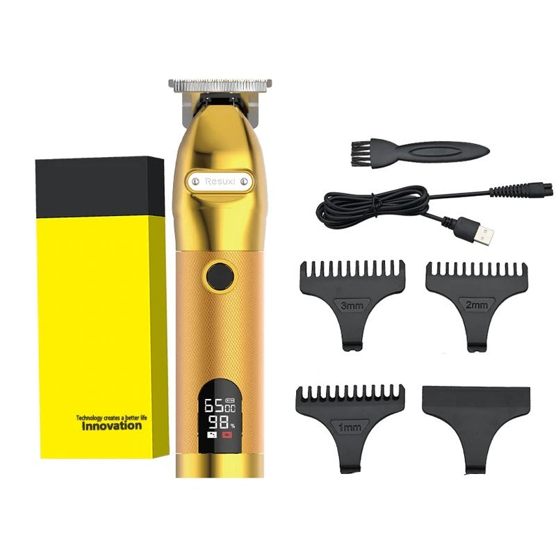 Professional barber Gold clipper hair trimmer
